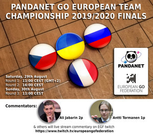 Pandanet european team championship finals 2020 twitch commentaries